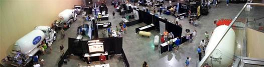 2014 Mid States Propane Expo Vendors Wide Shot